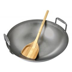 The Big Green EGG Carbon Steel Wok