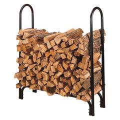 "45"" Log Rack - Wood"