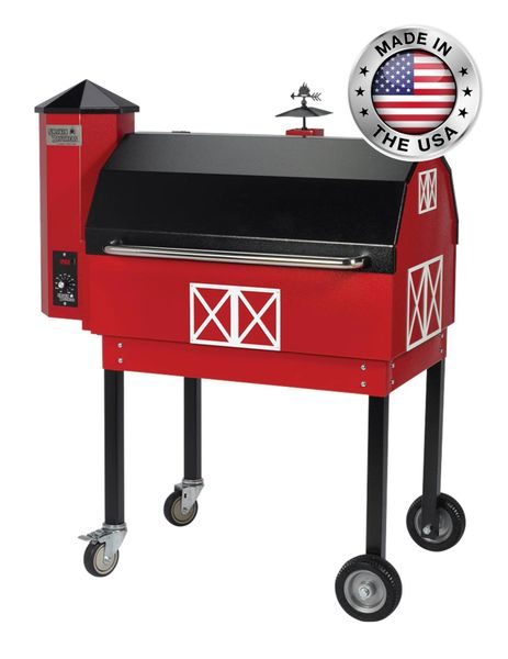 Smokin' Brothers Barn-B-Que Pellet Grill (PID Upgrade Included)