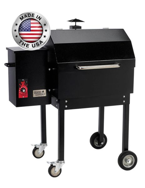 "Smokin' Brothers Traditional 24"" Pellet Grill"