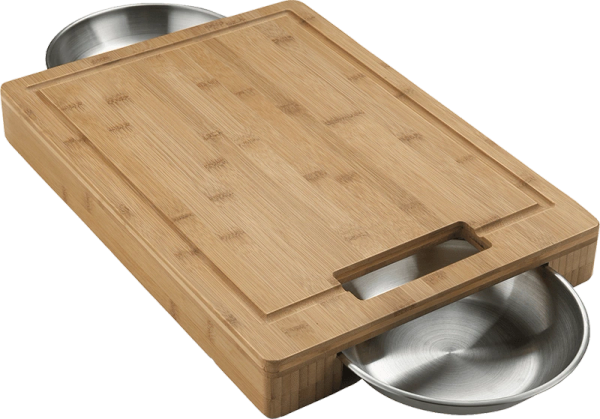 Napoleon Grills PRO Carving/Cutting Board w/SS Bowls