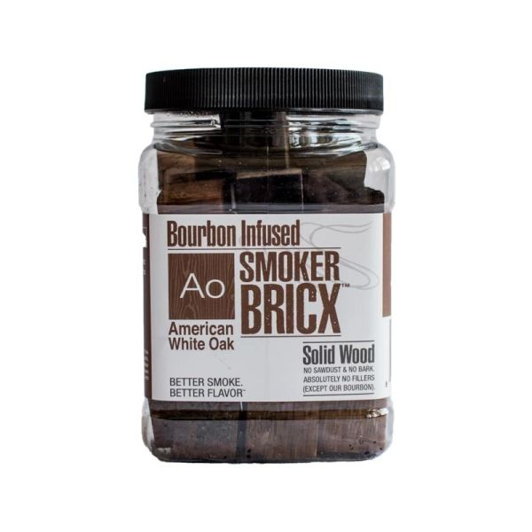 BRICX American Oak Bourbon Infused Smoking Blocks