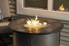 Outdoor GreatRoom Company Edison Fire Pit Table