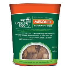 The Big Green EGG Mesquite Smoking Chunks