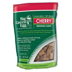 The Big Green EGG Cherry Smoking Chips