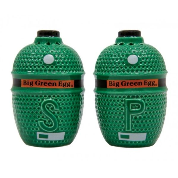 The Big Green EGG Salt & Pepper Shakers