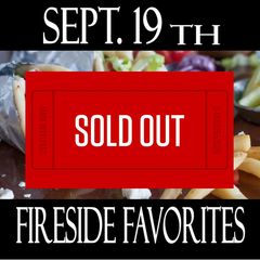 9/19/19 - Cooking Class - Fireside Favorites