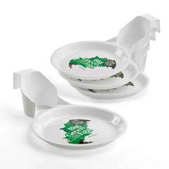 The Big Green EGG Picnic Plates
