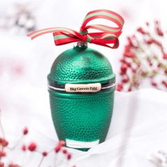 The Big Green EGG Glass Holiday Ornament **Limited Edition**