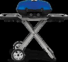Napoleon TravelQ 285X w/Scissor Cart (Blue)
