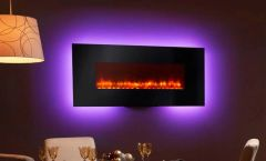 "Simplifire 58"" Wall-Mount Electric Fireplace"