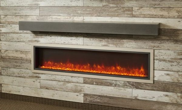 Outdoor GreatRoom Gallery Built-In Electric Fireplace