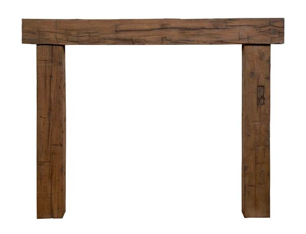 Magarhearth Brown Post & Beam Non-Combustible Mantel Kit ***CALL FOR INFORMATION***