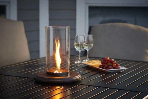 Outdoor GreatRoom Company Intrigue Table Top Outdoor Lantern