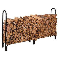 "87"" Log Rack - Wood"