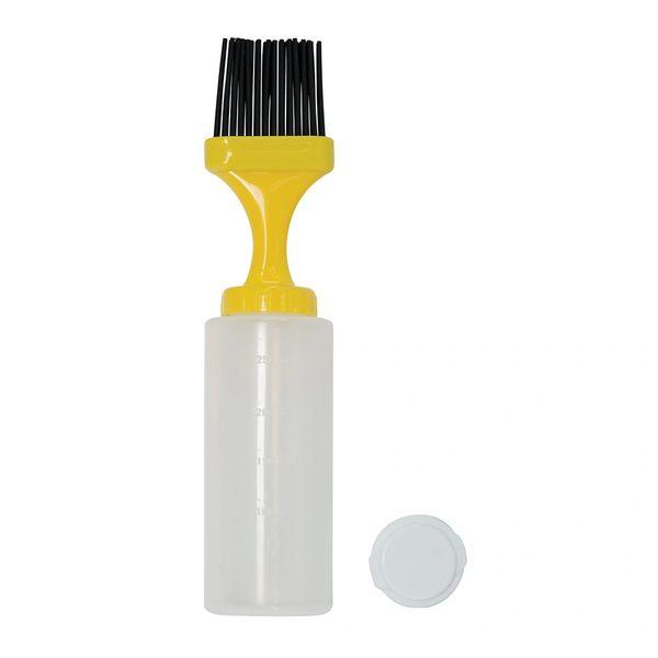Mr. Bar-B-Q Silicone Brush Basting Bottle