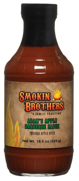 Smokin' Brothers Adam's Apple BBQ Sauce