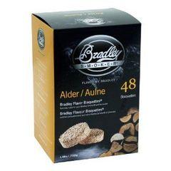 Bradley Smoker Alder Bisquettes 48 Pack