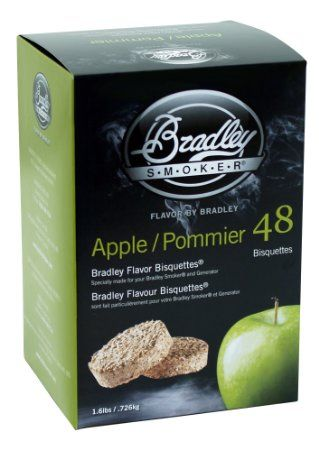Bradley Smoker Apple Bisquettes 48 Pack
