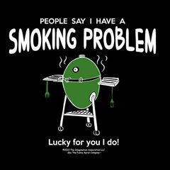 "The Big Green EGG ""Smoking Problem"" Apron"