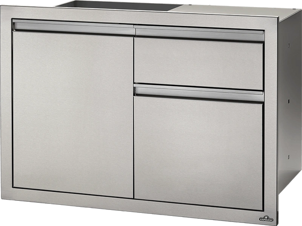 Napoleon Built In 36 x 24 Single Door & Waste Bin Drawer Insert