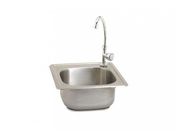 Outdoor GreatRoom Co. Outdoor Stainless Steel Sink w/Faucet