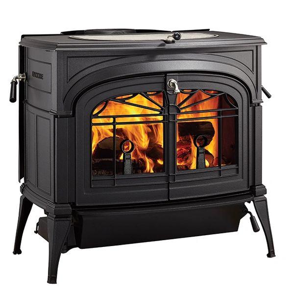 Vermont Castings Encore EPA Wood Burning Stove in Classic Black