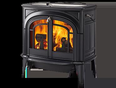 Vermont Castings Dauntless EPA Wood Burning Stove in Classic Black