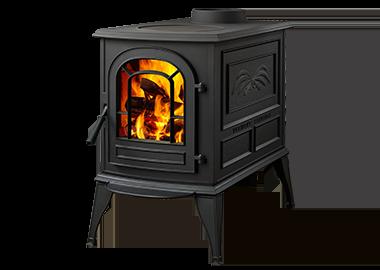 Vermont Castings Aspen C3 EPA Wood Burning Stove in Classic Black