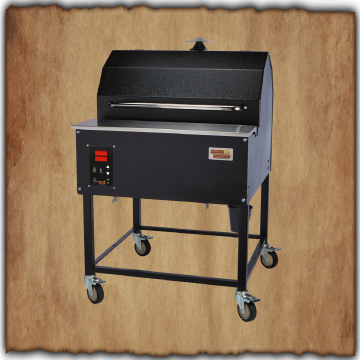 "Smokin' Brothers 30"" Premier Plus Pellet Grill W/Que-View"