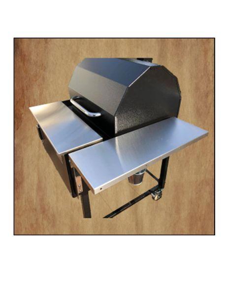Smokin' Brothers Premier Plus Stainless Steel Side Shelf