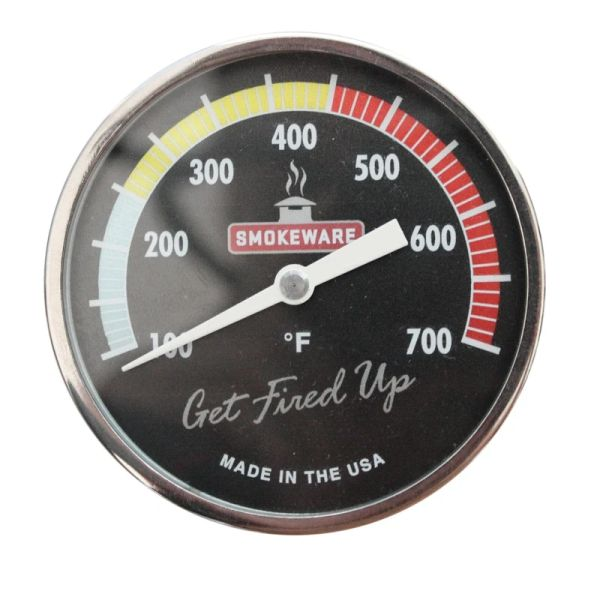 Mult-Colored Temperature Gauge for The Big Green EGG by SmokeWare