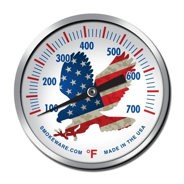 Limited Edition USA Eagle Temp. Gauge for The Big Green EGG by Smokeware