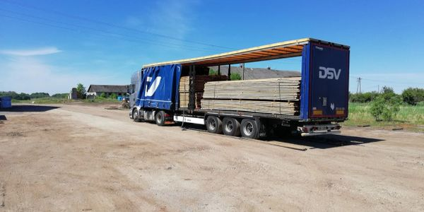Siberian Larch products delivering