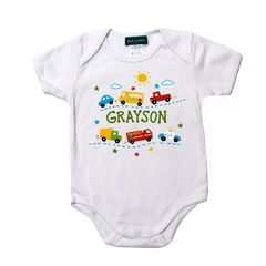 Little Cars Bodysuit
