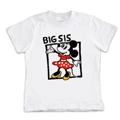 Minnie Big Sis T-Shirt