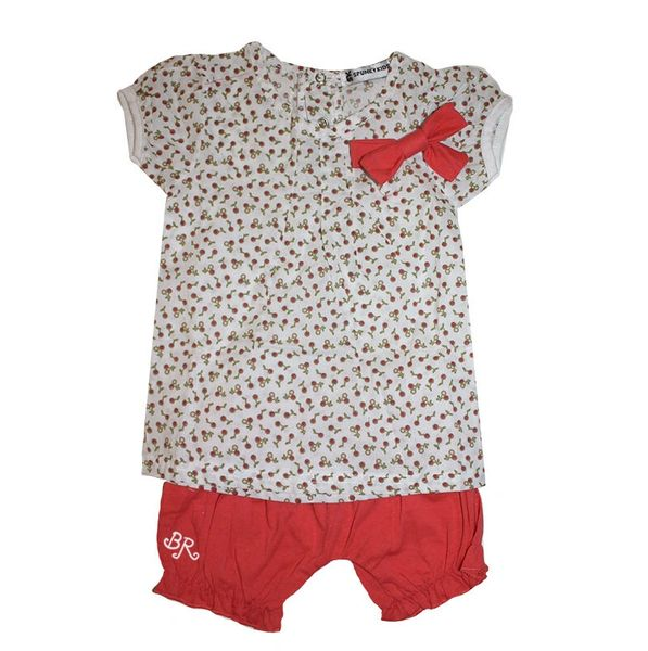 Girls Cherry Top and Shorts Set
