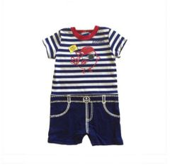 Daddy's First Mate Romper & Sailor Hat Set