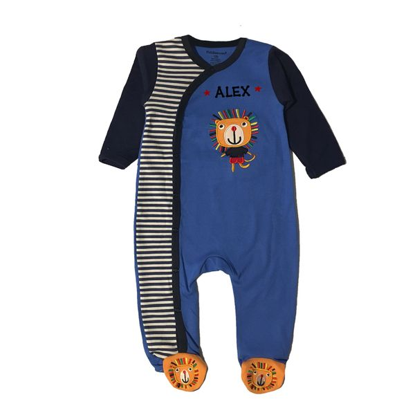 Sleep N Play Lion Romper