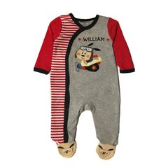 Sleep N Play Puppy Romper