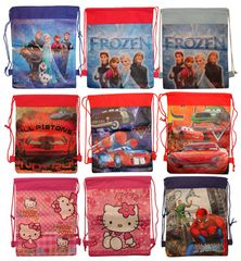 Character Drawstring Bags