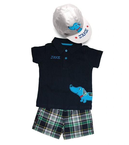 Polo, Shorts & Cap Set