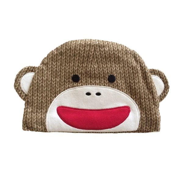 Sock Monkey Beanie Hat