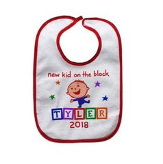 New Kid On the Block 2018 Bib for Boys and Girls