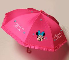 Ruffled Girls Umbrella with 1 Design