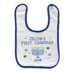 Baby's First Chanukah Bib