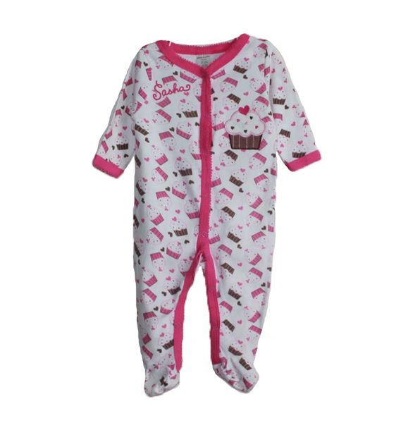 Baby Sleep N Play Cupcake Coverall