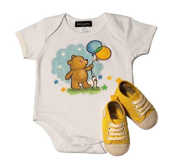 Baby Onesie & Sneaker Set