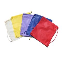 Kids Drawstring Bags Various Colors
