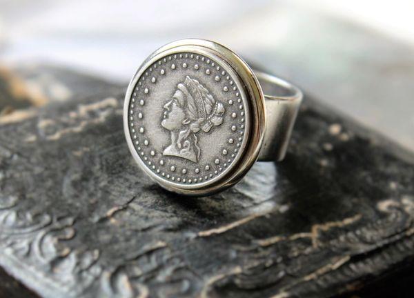 NOR - Vintage Coin Replica Ring
